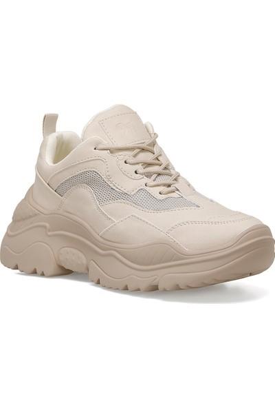 Nine West Reto Bej Kadın Sneaker Ayakkabı