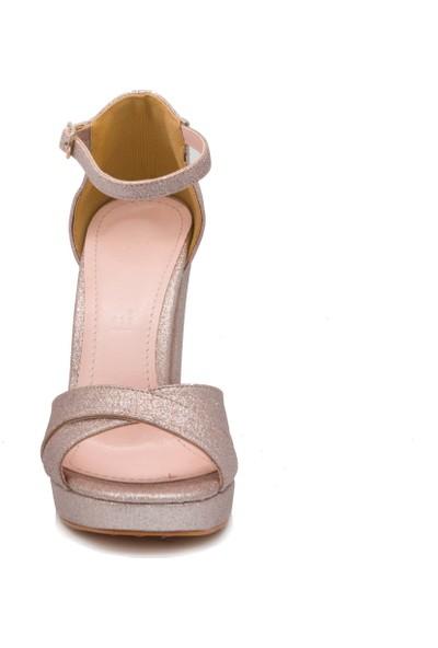 Gedikpaşalı Kadın Prk 24 Pembe Abiye Ayakkabı