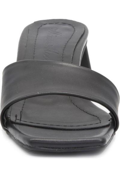 Gedikpaşalı Kadın Alm 0444 Siyah Terlik Sandalet