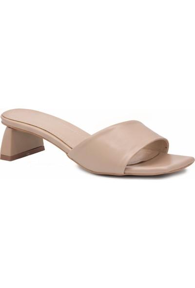 Gedikpaşalı Kadın Alm 0444 Bej Terlik Sandalet