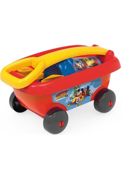 Smoby Mickey 3 Plaj Kova Seti ve Çek Çek Araba 867003