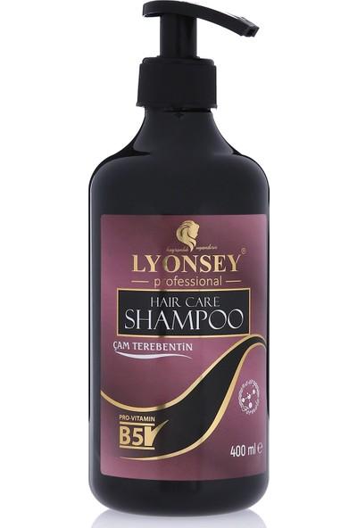 Lyonsey Çam Terebentin Özlü Şampuan 400 ml + Keratin Komplex Saç Maskesi 500 ml