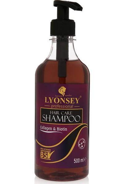 Lyonsey Biotin&collagen Şampuan 500 Ml+ Keratin Komplex Saç Maskesi 500 ml
