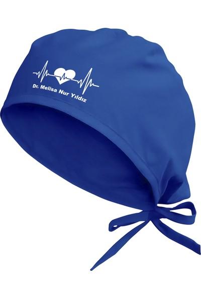 Tasarım Trend Kalp Ritmi Cerrahi Bone Mavi TT012M
