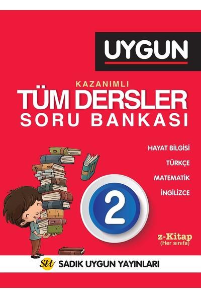 Sadık Uygun Yayınları 2.Sınıf Tüm Dersler Soru Bankası Okuma Anlama Problem 2 Kitap