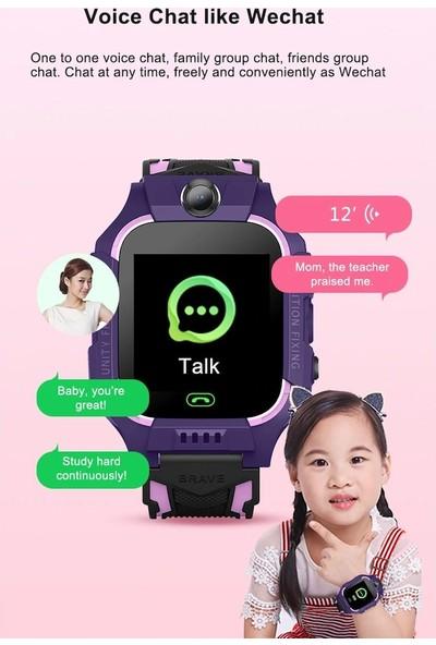Magazabu NLN/Q19 Sim Kartlı Gps Akıllı Çocuk Saati