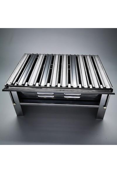 Mizan Katlanır Mangal 430 Krom Çelik