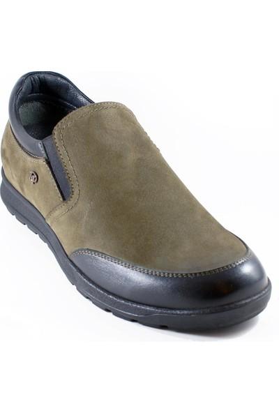 King Paolo 8232 Deri Ortopedi Erkek Ayakkabı