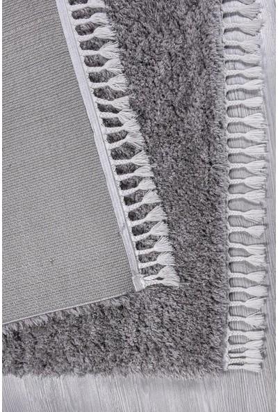 Kuga Açık Gri Post Dokuma Yolluk Halı 80 x 150 cm