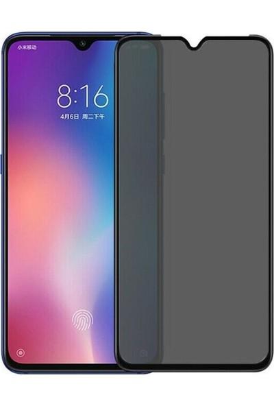Coverzone Xioami Redmi Note 9 Pro Cam Ekran Koruyucu Hayalet Gizlilik Filtreli Siyah