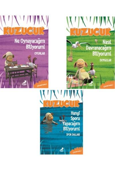 Çıkartmalı Etkinlik ve Eğitim Kitapları 3 Kitap