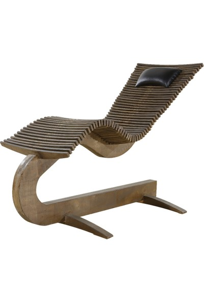 Modecoavm Ahşap Dinlenme Sandalyesi