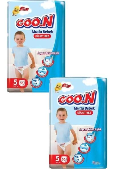 Goon Mutlu Bebek Külot Bezi 5 Beden 30'lu 2 Paket