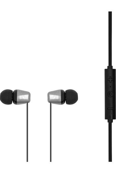 MF Product Acoustic 0133 Mikrofonlu Boyun Askılı Kulak İçi Kablosuz Bluetooth Kulaklık Siyah