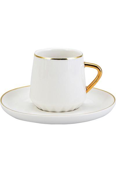 Emsan Kıymet 6lı Kahve Fincan Takımı