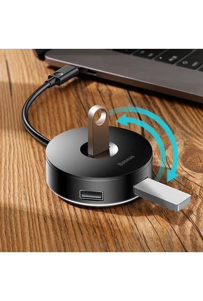 Baseus Type-C 4 Portlu USB Çoğaltıcı USB Hub Windows Macbook