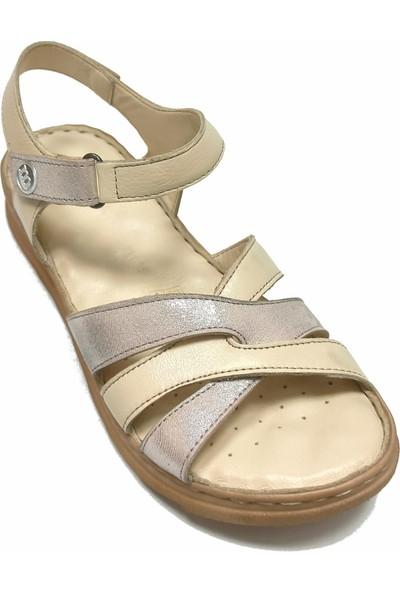 Mammamia D20YS 1810 Cırtlı Comfort Kadın Sandalet