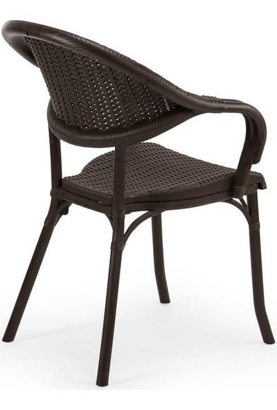 Bintaş Mobilya Venge Dış Mekan Bahçe Masa Sandalye Takımı