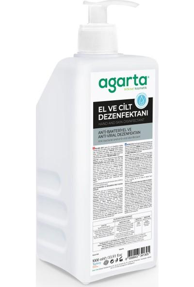 Agarta Alkollü El ve Cilt Dezenfektanı 1000 ml