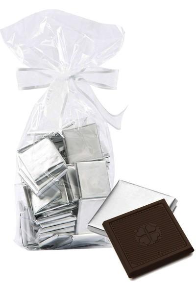 Melodi Gümüş Sargılı Madlen Bitter Çikolata 500 gr