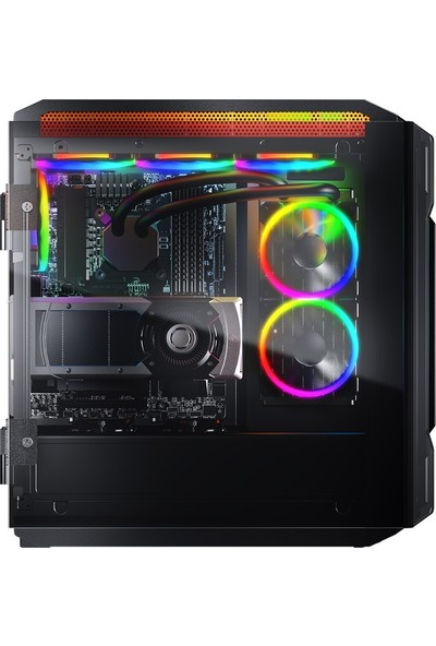 Cougar Gemini T CGR-6KMTB-RGB LED Panel ATX Bilgisayar Kasa