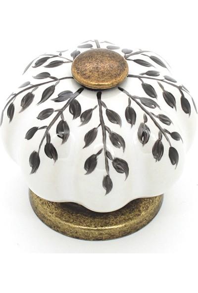 Kulpca Porselen Düğme Kulp