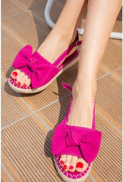 Fox Shoes Fuşya Kadın Sandalet H267026302