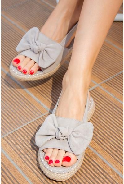 Fox Shoes Gri Kadın Sandalet H267026302