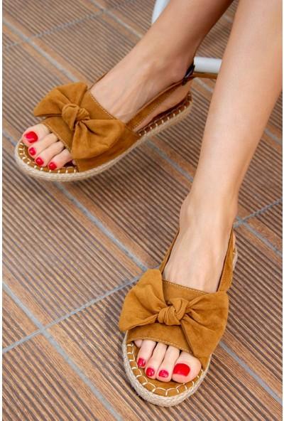 Fox Shoes Taba Kadın Sandalet H267026302