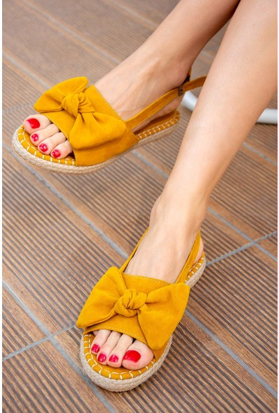 Fox Shoes Hardal Kadın Sandalet H267026302