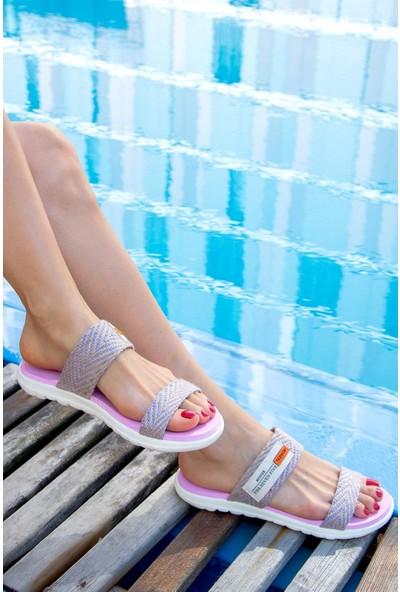 Fox Shoes Lila Kadın Terlik H350023609