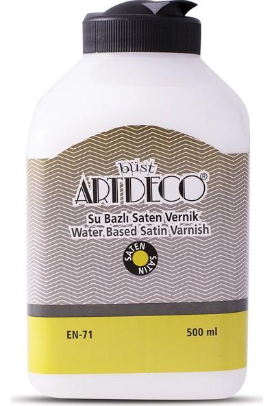Artdeco Su Bazlı Saten Vernik 500ML