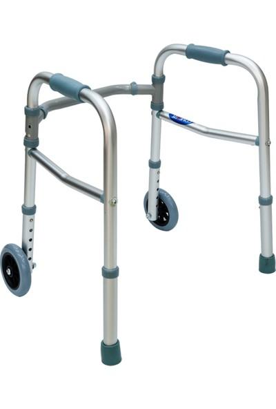 Comfort Plus KY912 Small Alüminyum Pediatrik - Çocuk Tekerlekli Walker Yürüteç