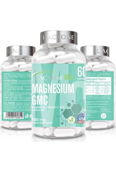 L'actone Magnezyum Gmc 500 mg / 60 Kapsül