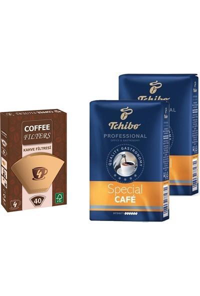 Tchibo Profesional Special Filtre Kahve 250 gr x 2'li + Filtre Kahve Kağıdı