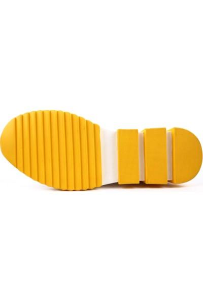 Dgn 3392 Erkek Lazerli Bağcıklı Termo Lıght Taban Ayakkabı 20Y