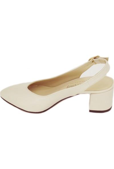 Trendy 100100121 Yeni Sezon Kalın Topuk Günlük Ayakkabı