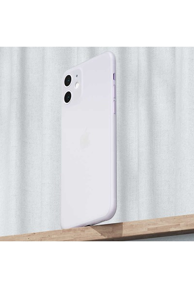 Vendas Apple iPhone 11 Wing Serisi İnce Silikon Kılıf - Şeffaf
