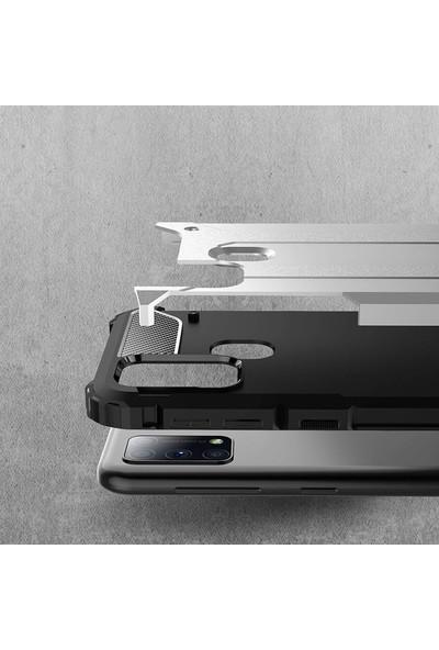 Vendas Samsung Galaxy M31 Secure Serisi Maksimum Korumalı Kılıf - Mavi