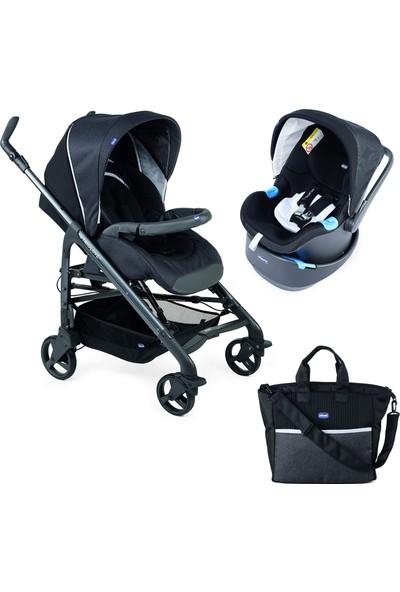 Chicco Duo Love Up Travel Sistem Bebek Arabası Tk Black