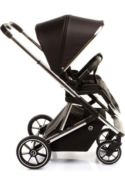 Bagi Nanofold Bebek Arabası Chrome Carbon Black