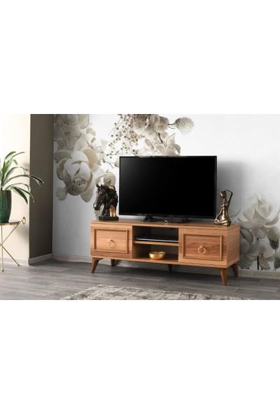 Sivasgözde Modern Tarz Yüksek Ayaklı Tv Sehpası 130 cm