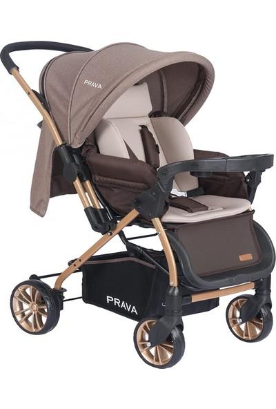 Prava P11 Dream Plus Çift Yönlü Bebek Arabası - Kahverengi