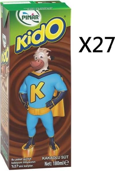 Pınar Kido Kakaolu Süt 27'li