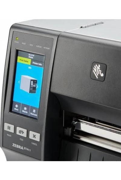 Zebra ZT411 Endüstriyel Barkod Yazıcı (203DPI)