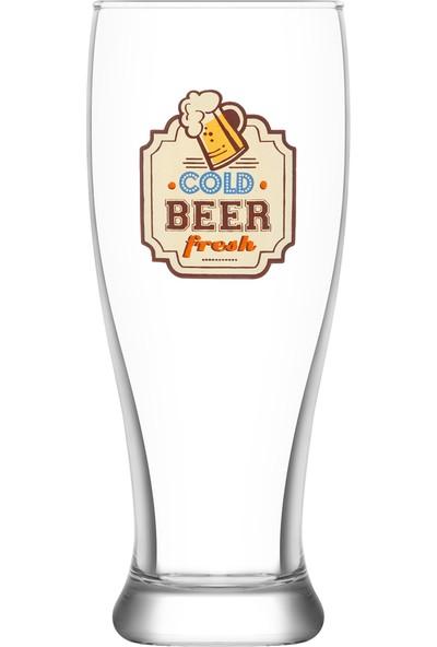 Lav Retro Nostalji 2'li Bira Bardağı