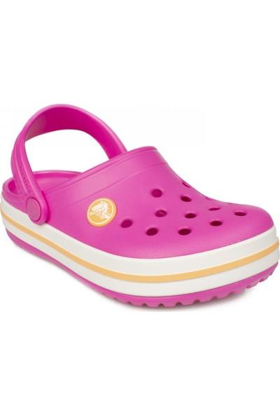 Crocs 204537 Crocband Clog Kids Pembe Çocuk Terlik