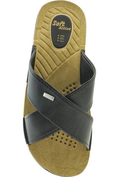 Ayakkabı Vakti Anatomik Yumuşak Tabanlı Erkek Terlik