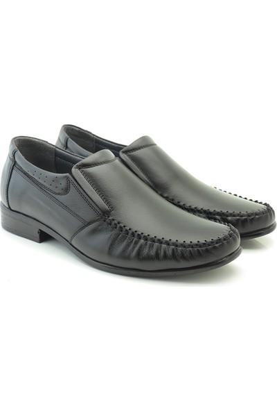 Ayakkabı Vakti Rok Sivri Burun Deri Erkek Klasik Ayakkabı