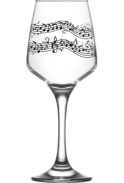 Lav Melodi 2'li Su-Şarap Kadehi